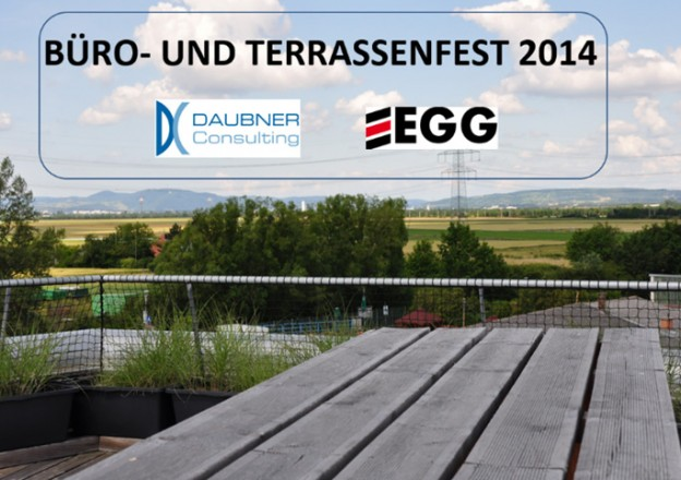 Büro & Terrassenfest 2014